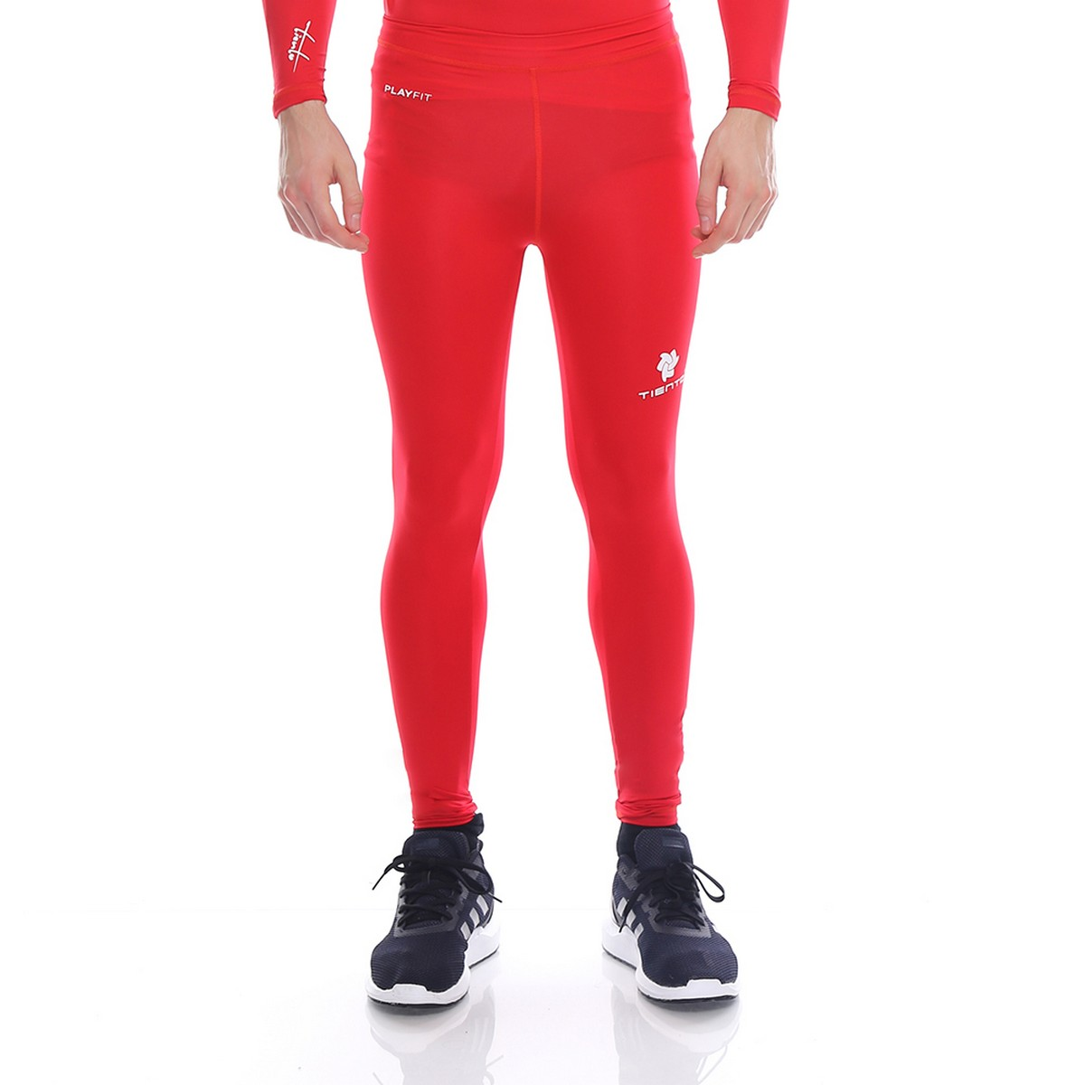 Celana Legging Sport Long Pants Red Men Tiento