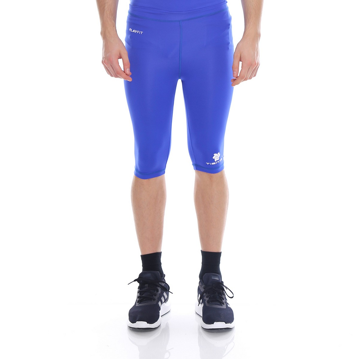 Celana Legging Sport Half Pants Blue Men Tiento